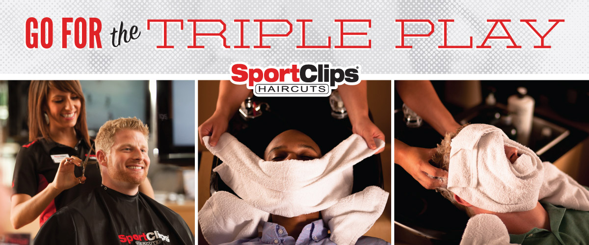 The Sport Clips Haircuts of South Barrington  Triple Play